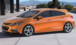 2017 Chevrolet Cruze Hatchback เปิดตัวอย่างเป็นทางการที่สหรัฐฯ