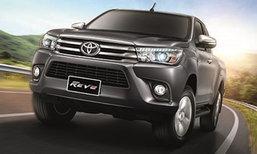 เปิดตัว 2016 Toyota Hilux Revo รุ่นปรับโฉมใหม่ เพิ่มอ็อพชั่นหรูยิ่งขึ้น