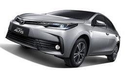 2017 Toyota Corolla Altis ไมเนอร์เชนจ์ใหม่ เคาะรุ่นท็อป 1.079 ล้านบาท