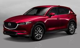 Mazda CX-5 2017 ใหม่ เตรียมเปิดตัวที่เจนีวามอเตอร์โชว์