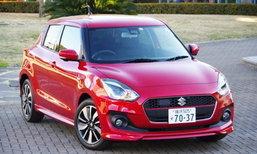 Suzuki SWIFT ใหม่ โดดเด่นด้วยการปรับแต่งจากทางฝั่งยุโรปในรุ่น Hybrid RS
