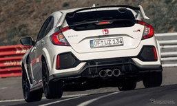 CIVIC Type R ใหม่ ทำลายสถิติเร็วสุดในรุ่นขับเคลื่อนล้อหน้า สนาม Nürburgring
