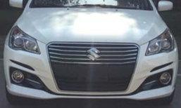 ภาพหลุด Suzuki Ciaz 2018 ไมเนอร์เชนจ์ใหม่โผล่ที่ประเทศจีน
