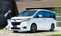 Honda StepWGN 2017 ไมเนอร์เชนจ์ใหม่เผยโฉมแล้วที่ญี่ปุ่น