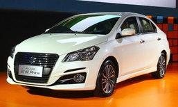 Suzuki Alivio Pro 2017 ใหม่ เผยราคาจำหน่ายที่จีนเริ่มต้น 4.72 แสนบาท