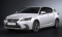Lexus CT200h 2017 ไมเนอร์เชนจ์ใหม่ ราคาเริ่ม 1.999 ล้านบาท