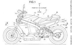 Honda จดสิทธิบัตรมอเตอร์ไซค์พลังงานฟิวเซลแล้ว