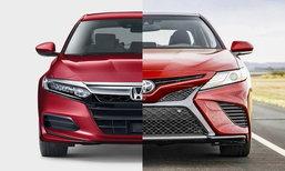 เจาะสเป็ค Toyota Camry/Honda Accord 2018 ใหม่ ก่อนเปิดตัวในไทย