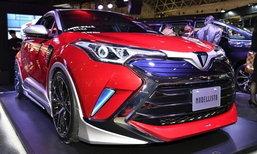 Toyota C-HR Sonic Emotion 2018 ใหม่ เผยโฉมที่งานโตเกียวออโต้ซาลอน