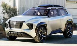 Nissan Xmotion Concept 2018 ใหม่ ต้นแบบเอสยูวีดีไซน์สุดล้ำเผยโฉมแล้ว