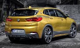 BMW X2 2018 ใหม่ ครอสโอเวอร์ดีไซน์คูเป้รุ่นล่าสุดเปิดตัวแล้ว