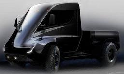Tesla เผยภาพทีเซอร์รถกระบะขุมพลังไฟฟ้าใหม่ล่าสุด
