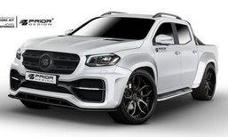 Mercedes-Benz X-Class 2018 พร้อมชุดแต่ง Prior Design หล่อดุไม่เบา