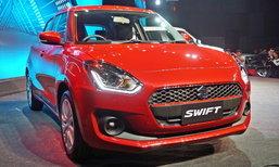 Suzuki Swift 2018 ใหม่ เปิดตัวแล้วในไทยพร้อมขุมพลัง Dualjet 1.2 ลิตร เคาะรุ่นท็อป 6.29 แสนบาท