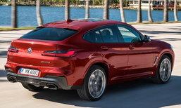 BMW X4 2018 ใหม่ เอสยูวีคูเป้รุ่นล่าสุดเปิดตัวอย่างเป็นทางการแล้ว