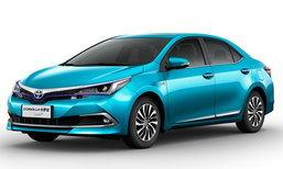 Toyota Corolla 2018 ขุมพลังปลั๊กอินไฮบริดเปิดตัวจริงแล้วที่จีน
