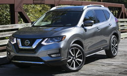 Nissan Rogue Hybrid 2018 ไมเนอร์เชนจ์ใหม่เริ่มวางจำหน่ายในสหรัฐฯ