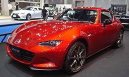 Mazda MX-5 RF 2018 เกียร์ธรรมดาเปิดตัวที่งานมอเตอร์โชว์ เคาะ 2.82 ล้านบาท