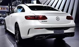 Mercedes-Benz E200 Coupé 2018 ใหม่ เปิดตัวที่งานมอเตอร์โชว์ ราคา 4,390,000 บาท