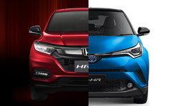 เทียบสเป็ค Honda HR-V 2018 และ Toyota C-HR 2018 รุ่นท็อปทั้งคู่อ็อพชั่นใครเหนือกว่า?