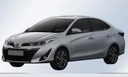 Toyota Yaris L 2018 หลุดภาพจดสิทธิบัตรในจีน ถอดแบบ Yaris Ativ เปี๊ยบ