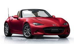 Mazda MX-5 2018 ใหม่ เปิดตัวแล้วที่ญี่ปุ่น เพิ่มกำลังสูงสุดเป็น 184 แรงม้า