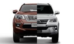 เทียบสเป็ค Nissan Terra 2018 และ Toyota Fortuner 2018 รุ่นท็อปทั้งคู่ อ็อพชั่นใครแน่นกว่า?