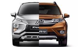 เทียบสเป็ค Mitsubishi Xpander 2018 และ Honda BR-V ใหม่ คู่แข่งที่ใกล้เคียงที่สุดเวลานี้