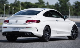 Mercedes-AMG C43 4MATIC Coupé 2019 รุ่น CKD โฉมใหม่ เคาะราคา 4.22 ล้านบาท