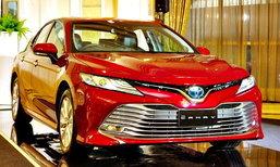 Toyota Camry 2019 ใหม่ เปิดตัวแล้วในไทย มีให้เลือก 4 รุ่นย่อย ราคา 1,445,000 บาท