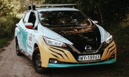 Nissan Leaf 2018 ขับไฟฟ้าข้ามทวีป โปแลนด์-ญี่ปุ่น กว่า 16,000 กิโลเมตร