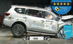 Nissan Terra 2019 ใหม่ คว้าคะแนนความปลอดภัย 5 ดาวจาก ASEAN NCAP