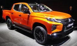 Mitsubishi Triton 2019 รุ่นพิเศษพร้อมตัวถังสีส้มใหม่เผยโฉมในงานเปิดตัว