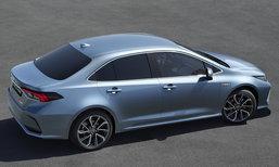 Toyota Corolla Sedan 2019 เวอร์ชั่นยุโรปเผยโฉมแล้ว เพิ่มอ็อพชั่นล้ำเพียบ