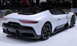 Maserati MC20 ใหม่ ซูเปอร์คาร์คันงามขุมพลัง 630 แรงม้า เคาะราคาเริ่ม 21,500,000 บาท