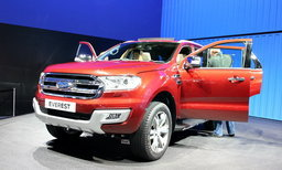 Ford Everest ใหม่ เปิดตัวแล้วที่งานมอเตอร์โชว์ 2015 เคาะเริ่ม 1.269 ล้านบาท