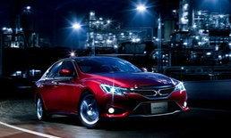 2013 Toyota Mark X  หล่อเหลายิ่งขึ้นด้วยเส้นสายใหม่
