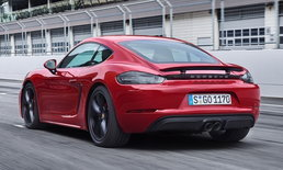 Porsche 718 Cayman/Boxster GTS 2018 ใหม่ พกขุมพลัง 2.5 ลิตรเทอร์โบ 365 แรงม้า