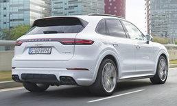 Porsche Cayenne E-Hybrid 2018 ใหม่ ขุมพลังไฮบริด 455 แรงม้าเปิดตัวจริงแล้ว