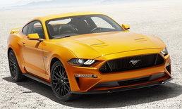 Ford Mustang 2018 เปิดรับจองแล้วในไทย ราคาเริ่มต้น 3,599,000 บาท