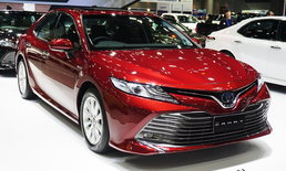 Toyota Camry 2019 ใหม่ เคาะราคาเริ่มต้น 1,445,000 บาท ที่งานมอเตอร์เอ็กซ์โป