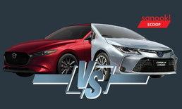 เทียบช็อต Mazda3 และ Toyota Altis 2019 ใหม่ ทั้งภายนอก-ภายใน คันไหนสวยกว่า?