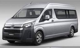 หลุด All-new Toyota Hiace 2019 ใหม่ ก่อนเปิดตัวจริงที่ญี่ปุ่น
