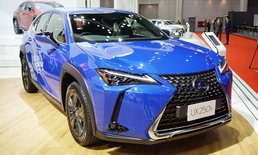 Lexus UX250h 2019 ใหม่ เผยโฉมที่งานมอเตอร์โชว์ เริ่มต้น 2.49 ล้านบาท