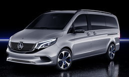 Mercedes-Benz Concept EQV 2019 ใหม่ ต้นแบบรถแวนหรูขุมพลังไฟฟ้าเปิดตัวแล้ว