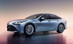 Toyota Mirai Concept 2021 รถพลังงานแห่งอนาคต พลิกโฉมสู่ซีดานสุดหรู