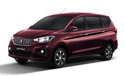 ราคารถใหม่ Suzuki ในตลาดรถยนต์ประจำเดือนเมษายน 2563
