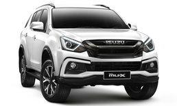 ราคารถใหม่ Isuzu ในตลาดรถประจำเดือนเมษายน 2563