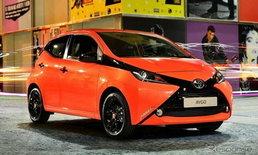 Toyota Aygo 2015 ใหม่ มาพร้อมระบบความปลอดภัยสุดล้ำ