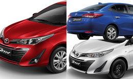 Toyota Yaris ATIV 2017 เจาะสเป็คและราคาทุกรุ่นย่อย